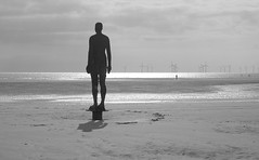 Momentary Rckenfigur (ault) Tags: uk antony gormley crosby merseyside anotherplace blundellsands