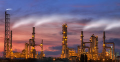 Oil refinery (anekphoto) Tags: auto lighting sunset chimney plant industry ecology metal night dark construction energy industrial technology power iran diesel smoke tube pipe greenpeace engineering automotive stack steam gas business smokestack pollution chemistry saudi arabia oil production environment petrol carbon protection distillery refinery economy pipeline built chemical supply petroleum manufacture distillation petrochemical colorfactory