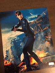 Cobie Smulder's autograph (legogeneralgrievous1) Tags: maria hill marvel cobie smulders