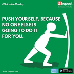 Motivation Monday - Zhopout (zhopout.com) Tags: shopping do it doit motivation monday justdoit pushup mondaymotivation zhopout