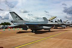 J-014 General Dynamics F-16AM Fighting Falcon, Royal Netherlands Air Force, RAF Fairford, Gloucestershire (Kev Slade) Tags: gloucestershire f16 generaldynamics raffairford fightingfalcon royalnetherlandsairforce f16am j014 egva riat2010