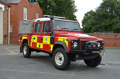 VU59CGE (Emergency_Vehicles) Tags: rescue station fire service hereford worcester hwfrs