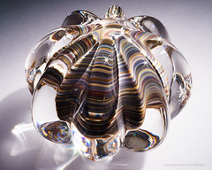 Stone Mix Paperweight (Jeff Addicott) Tags: glass shiny fresnel etsy paperweight sunstar snoot f32 micronikkor55mm135