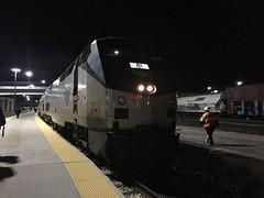 California Zephyr (codeeightythree) Tags: california station utah platform saltlakecity amtrak zephyr saltlakecityutah californiazephyr superliner