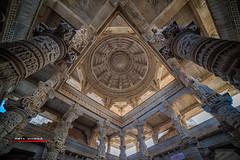 AV_Ranakpur Jain Temple (aavee77) Tags: travel india architecture temple religion jain pilgrimage ranakpur rajastan jainism toursim adinath chaumukha tirthankars