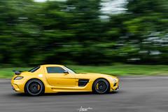 Vmax200 (AaronChungPhoto) Tags: car benz mercedesbenz panning supercar v8 sls amg slsblack slsbs vmax200 slsblackseries