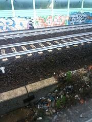 binari (Elena Scortecci) Tags: urban station graffiti dirty rails urbano binari sporco staione