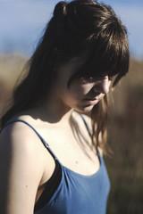 IMG_9508 (aishejonelle) Tags: blue trees portrait sky people green nature girl grass dress outdoor free preraphaelite