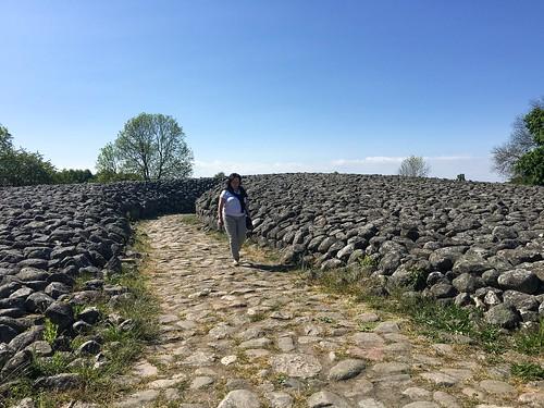 Kings Tomb at Kivik - Sweden, the entrance