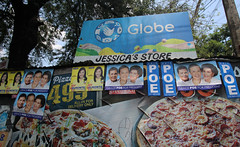 elections 2016 campaign signs 22 (_gem_) Tags: street city urban sign typography words text philippines politicians signage manila type metromanila politicianssigns elections2016