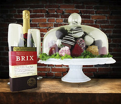Champagne, Chocolate & Chocolate Dipped Strawberries In Large Dome (Hazelton's Gift Baskets) Tags: old light brown abstract brick texture wall architecture vintage dark tile table wooden shadows display antique chocolate top background space empty room grunge rustic decoration rusty strawberries surface structure dirty retro shelf brickwall worn weathered material aged component rough product distress knots tabletop endless advertise dipped wallboard