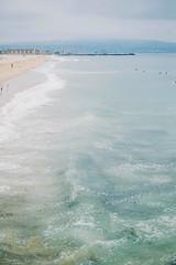May grey day (ilukmanova) Tags: ocean california ca beach cali la losangeles outdoor wave gloom hermosabeach laphotographer