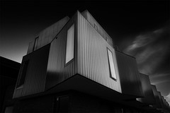 Angled Apartments (Leanne Cole) Tags: blackandwhite monochrome architecture apartments photographer photos australia images victoria environment fineartphotography blackandwhitephotography apartmentbuildings architecturalphotography environmentalphotography fineartphotographer nikond800 environmentalphotographer leannecole leannecolephotography