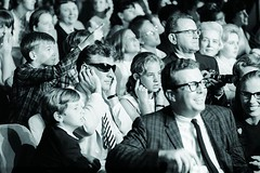 Legendary composer and conductor Leonard Bernstein plugs his ears while the Beatles perform in 1965. Photo by Ken Regan [1200  800] #HistoryPorn #history #retro http://ift.tt/1OxHVWA (Histolines) Tags: history by regan photo ken ears legendary retro his timeline 1200 beatles while perform leonard 800 plugs conductor bernstein composer 1965  vinatage historyporn histolines httpifttt1oxhvwa