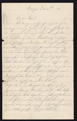 1888 Jacob to Carl1 (Max Kade Institute for German-American Studies) Tags: family handwriting familie genealogy script handwritten cursive sternberger kurrent