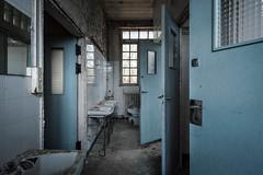 #703 (Vincent Ferron xplo) Tags: old blue abandoned colors decay d3