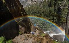 Somewhere under the rainbow (Jenware Photography) Tags: california sun landscape nationalpark rainbow nikon magic yosemite d800