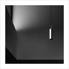 Llum illuminada / Illuminated light (ximo rosell) Tags: light blackandwhite bw blancoynegro luz nikon squares bn minimal d750 llum cuadrado ximorosell