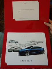 Tesla model 3 thank you gift (Carrie Gong Photography) Tags: 3 store model you iii line thank gift elon musk reservation tesla
