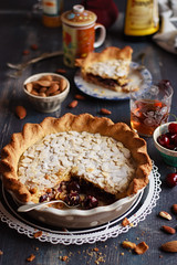 IMG_9980_exp-2 (Helena / Rico sin Azcar) Tags: cherry frangipane tart hazelnut tarta cerezas almendras