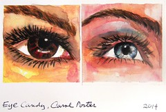 Porter Carol eye candy (hanks students artwork) Tags: 2016 takoma mc portrait watercolor eyes advanced