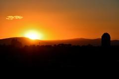 40 23 50 N, 3 39 21 W (1) (Cristina Campos Fraile) Tags: madrid park parque sunset sky espaa sol skyline atardecer spain outdoor silueta crepusculo horizonte nikond5200