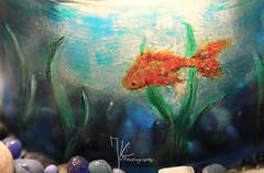 one little fish (Julia Knop) Tags: fish glass painting fisch glasmalerei juliakster juliakoester