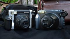 siblings (Mycophagia) Tags: film siblings analogue instantcamera instantfilm fujiinstax instax210 instax300