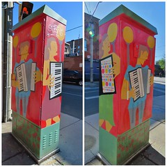 Accordion by Jerry Silverberg, Outside the Box Art Project, College and Grace, Toronto, ON (Snuffy) Tags: toronto ontario canada accordion collegeandgrace jerrysilverberg level1photographyforrecreation outsidetheboxartproject