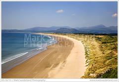 Harlech Beach from Llandanwg ( Mark Sunderland www.marksunderland.com) Tags: uk greatbritain travel beach wales nationalpark sand europe britishisles unitedkingdom britain dunes sandy dune cymru gb snowdonia harlech gwynedd eryri irishsea cardiganbay northwales parccenedlaethol llandanwg