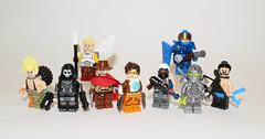 We... Are Overwatch (Kaiju Dan) Tags: lego reaper tracer blizzard genji mercy hanzo overwatch pharah mccree junkrat legooverwatch slodier76