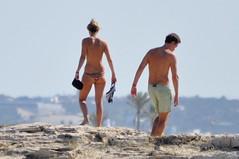 DSC_0223 (sheen_kosh) Tags: beach butt bikini thong topless formentera