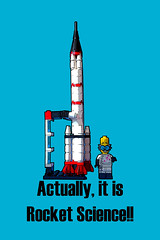 Actually, it is rocket science! (tim constable) Tags: travel school education technology lego space satellite famous computers saying science chemistry scifi physics mathematics rocket missile difficult minifig phrase professor mad maths intercontinental scientist challenging overcome minifigure understand incomprehensible interplanetary itsnotrocketscience itshard itseasy timconstable