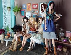 """Summer days"" (Levitation_inc.) Tags: face fashion toys design living doll dolls display nu handmade ooak room barbie levitation it clothes poppy boho fashionista fr royalty parker diorama integrity fr2 nuface"