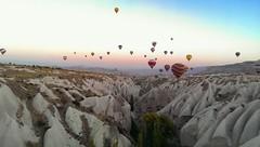 Cappadocia with my HTC phone camera (PsJeremy) Tags: houses turkey exposure shots trkiye balloon flight cave handphone cappadocia goreme hotairballooning  cellphoneshots phonecamerashot htcone