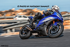 Yamaha R6 (Tony Sammut) Tags: canon canoniani canonef24105mmf4lisusm malta maltahdr bikers motorcycles motorbikesmotorcyclesopentoall motorbike spinnigwheels panningphotography aiservo yamahar6 hdr mellieha road flickr