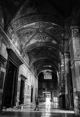 Morning exploration in Ayasofya (szenasia) Tags: summer museum architecture turkey nikon basilica religion indoor istanbul mosque historic inside orthodox sophia hagia ayasofya d610