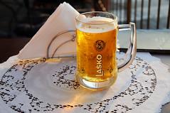 A well-deserved glass of Lako, Piran / Slovenia (anji) Tags: slovenia slovenija exyu exyugoslavia balkans istria istra adriaticsea adriatic jadran piran pirano