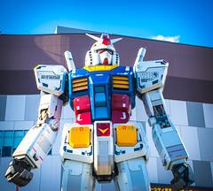 gundam statue 2 (shirokami85) Tags: gundam odaiba tokyo anime nikon