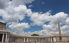 Colonnato del Bernini (Persephone_Grey) Tags: colonnato bernini sanpietro vaticano roma rome italia italy