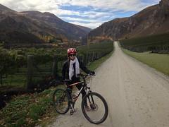 Tour de vélo dans la région de Gibbston