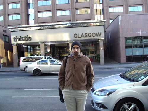 Visit to Glasgow by Mr. G.S.Kang (Director)