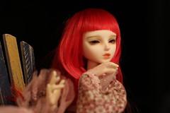 IMG_8270 (Emma Wolf) Tags: doll bjd customblythe obitsucustom classydoll dimdolllarina mystickids zinnadollmore