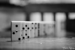 Perspectiva B&W (FlavioSpezia) Tags: bw blanco negro perspectiva domino
