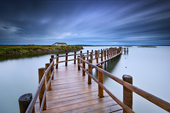 All the Way (CResende) Tags: seascape motion color portugal clouds way pier mood all le setubal d800 visitportugal mourisca longuexposure cresende