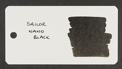 Sailor Nano Black - Word Card