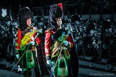 Drum Majors (FotoFling Scotland) Tags: tattoo army edinburgh kilt edinburghcastle military event esplanade sporran drummajor edinburghmilitarytattoo longhairedsporran