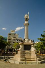 Plaza de Coln (www78) Tags: plaza old columbus statue square de puerto san juan christopher rico coln