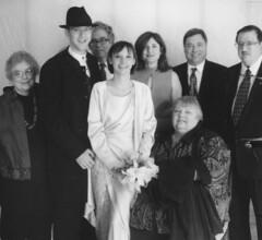 Laura Wedding Families Portrait (David Zerlin) Tags: photohistory margewunder