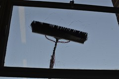 2015-04-15: Window Cleaning (psyxjaw) Tags: london window water office brush cleaning fourthfloor londonist